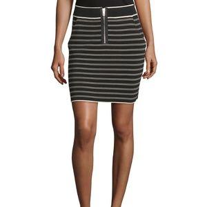 rag & bone Stretch Regan Pinstripe Mini Skirt L